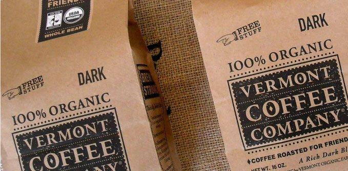 Vermont Coffee Company Kraft Coffee Bags
