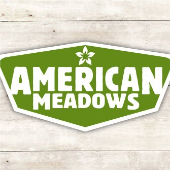 American Meadows Logo Badge