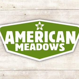 American Meadows Logo Badge