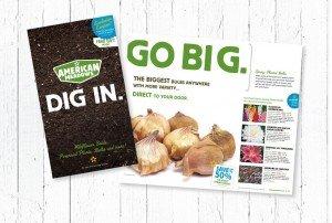 Dig In. Go Big. Catalog Spread