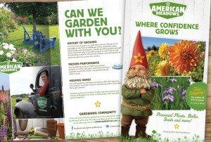 American Meadows Catalog Spread - Can We Garden With You?