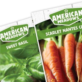 American Meadows Seed Packaging Detail
