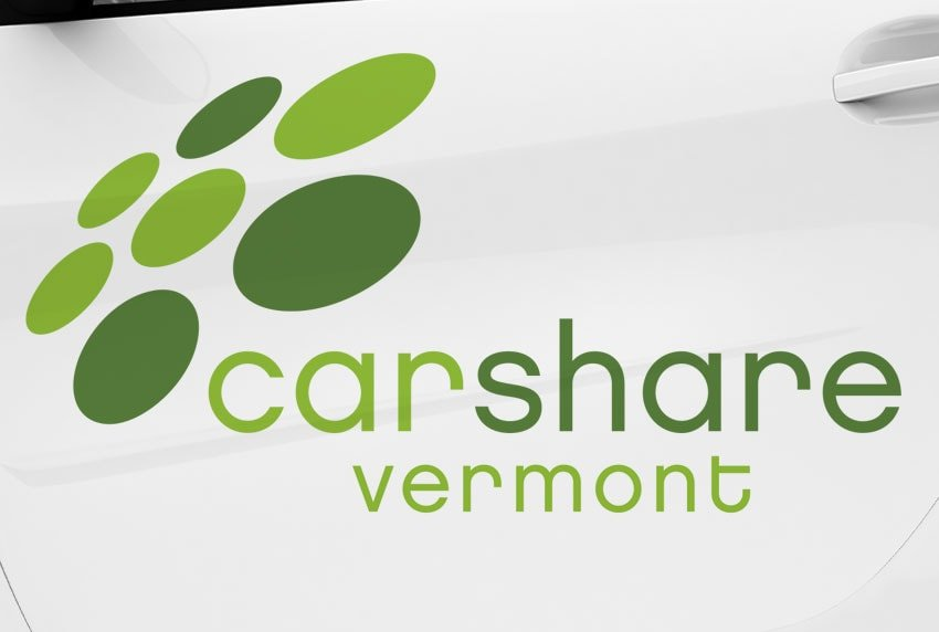 CarShare Vermont Car Decal