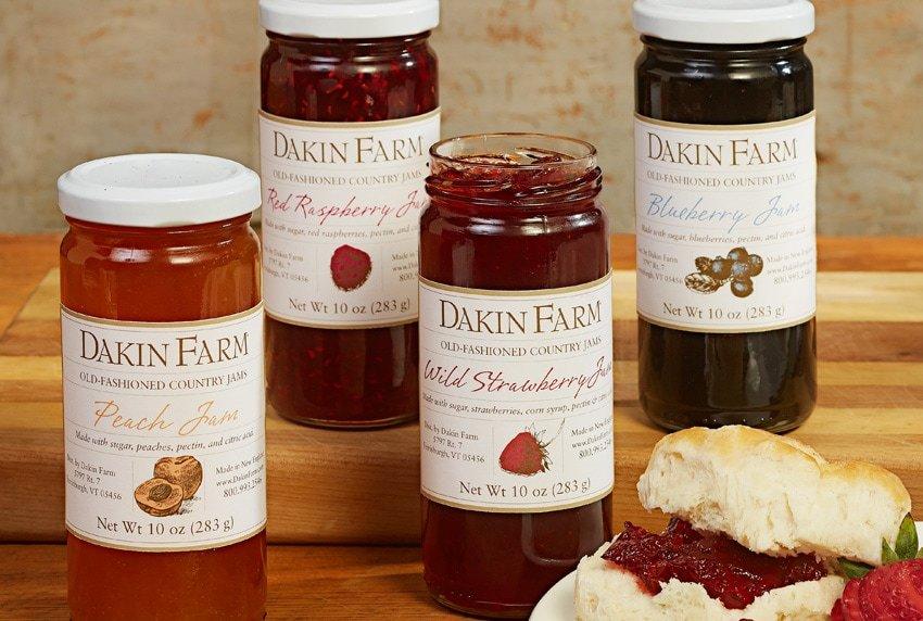 Dakin Farm Jam Product Line