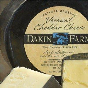 Dakin Farm Cheddar Cheese Packaging
