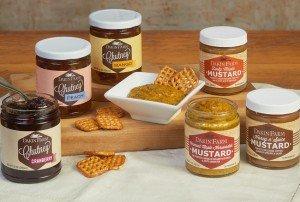 Dakin Farm Mustard and Chutney Line