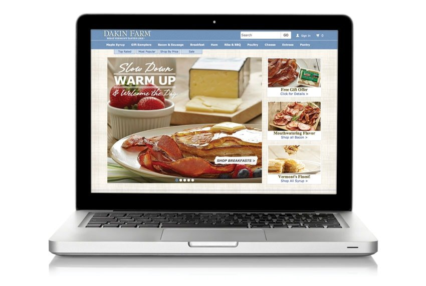 Dakin Farm Website