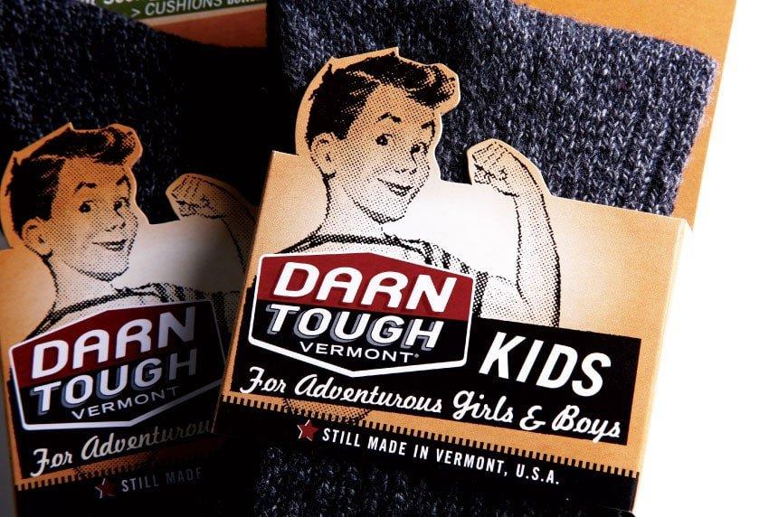 Darn Tough Vermont Kids Sock Packaging