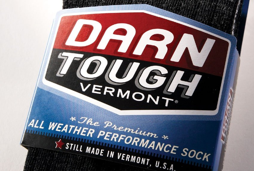 Darn Tough Vermont Performance Sock Packaging