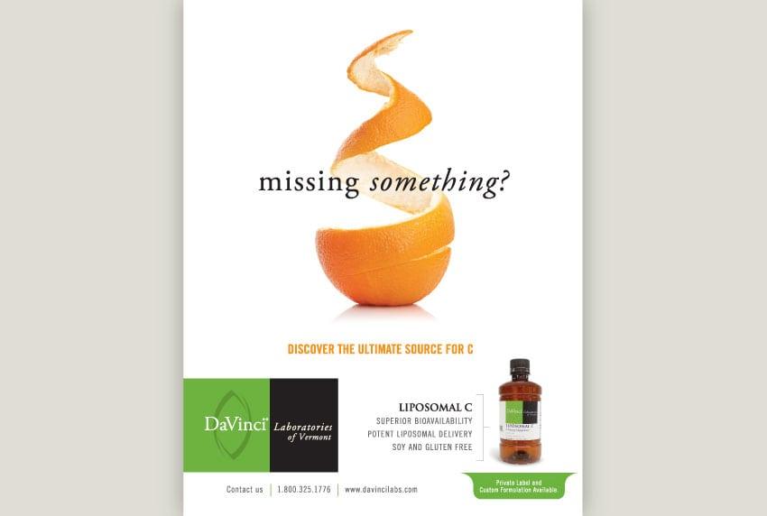 DaVinci Print Advertising for Private Label