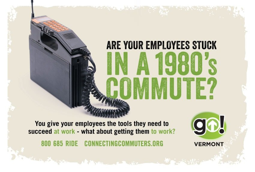 GoVermont Commute Online Advertising