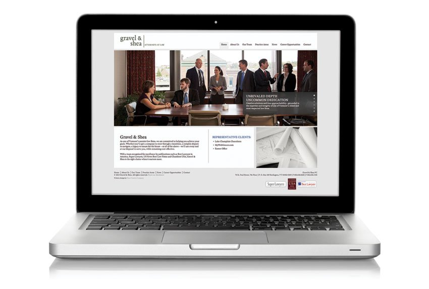 Gravel & Shea Website