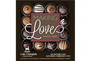 Lake Champlain Chocolates - Making Love Ad