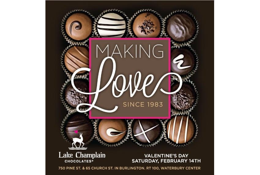 Lake Champlain Chocolates - Making Love Ad