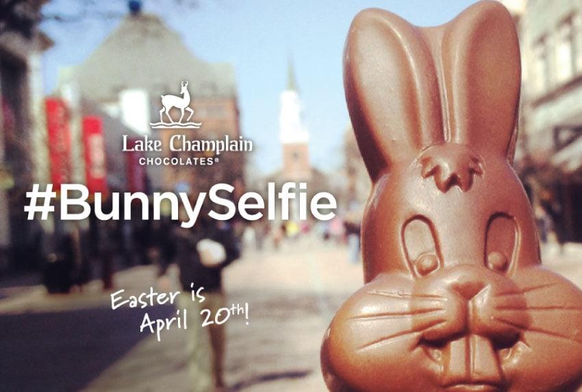 Lake Champlain Chocolates - Bunny Selfie