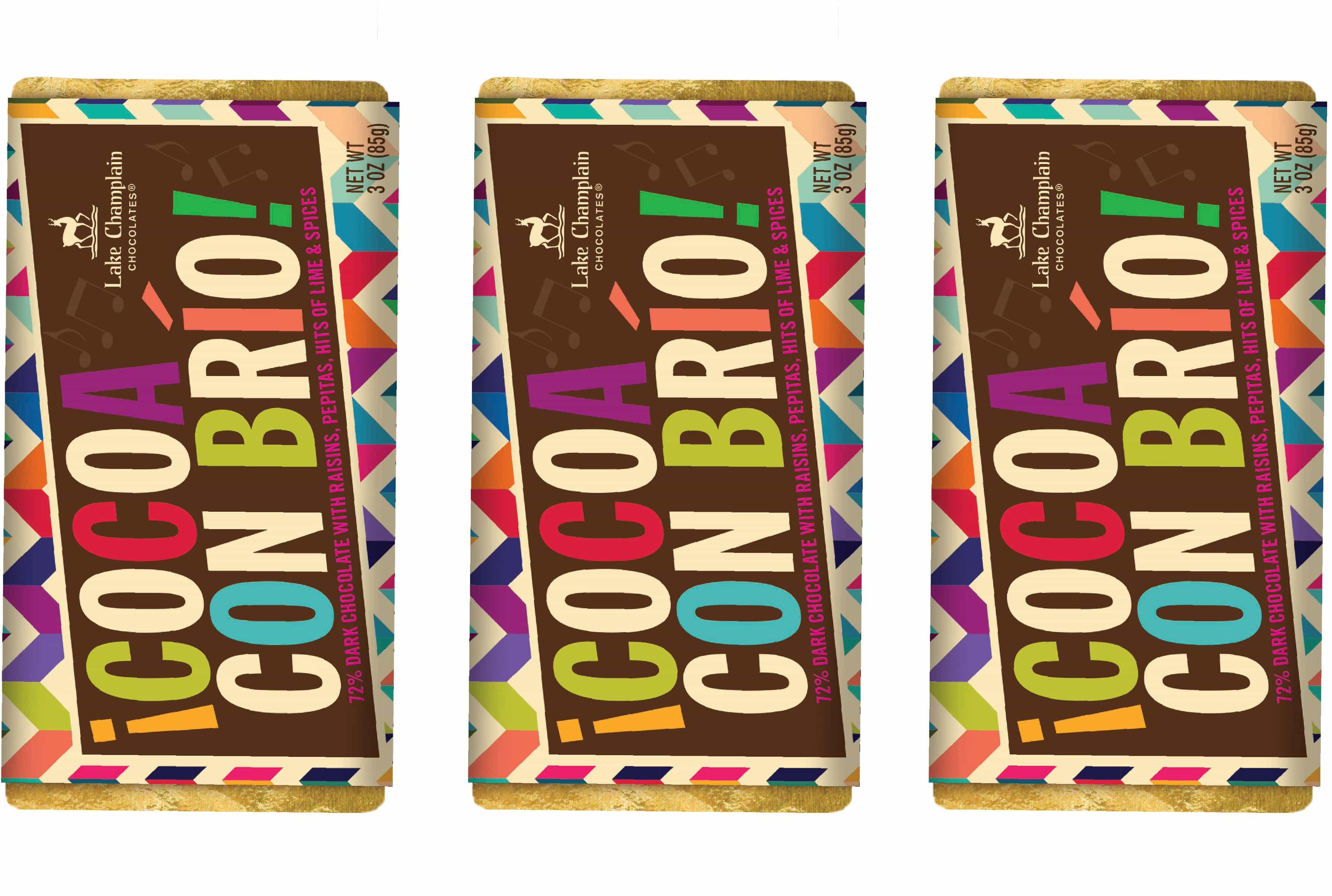 Lake Champlain Chocolates Con Brio Bar Packaging