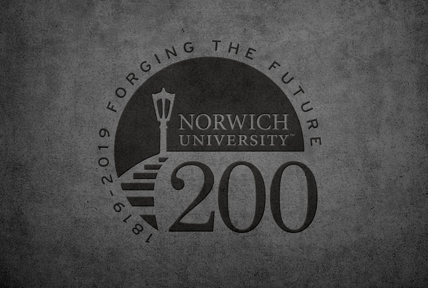 Norwich University Forging the Future Logo