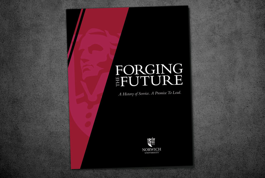 Norwich University Forging the Future Booklet Cover