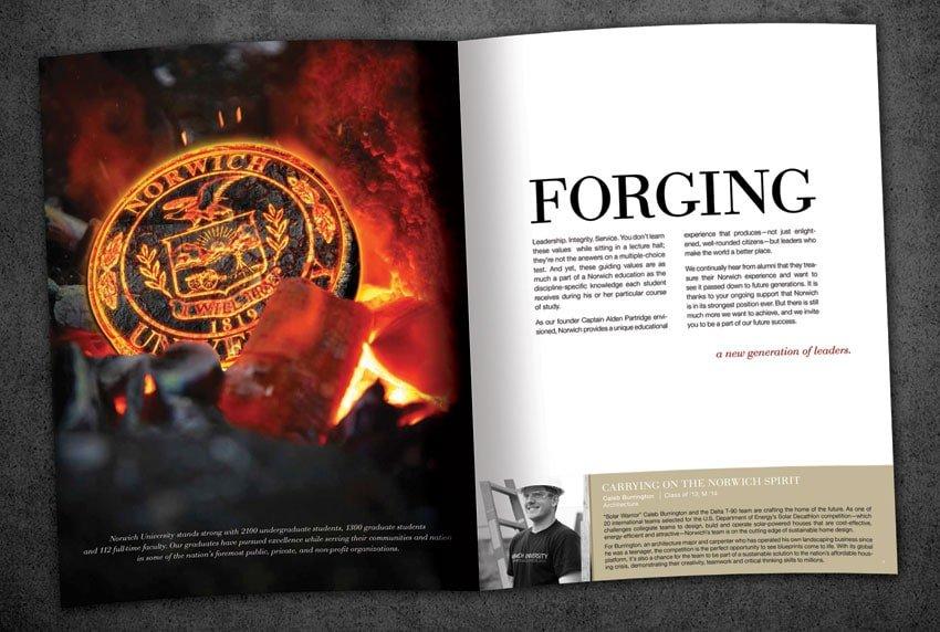Norwich University Forging the Future Brochure