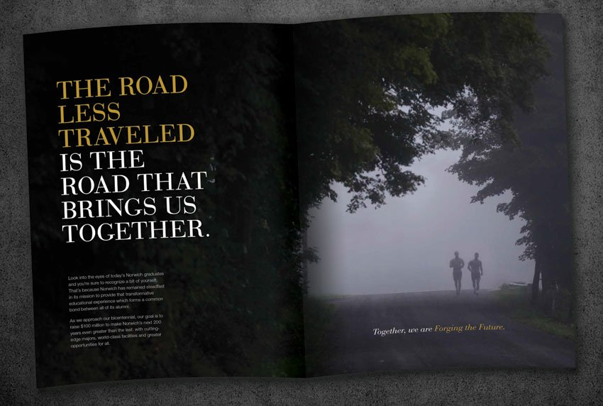 Norwich University - The Road Less Traveled