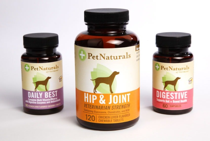 Pet Naturals Supplement Packaging