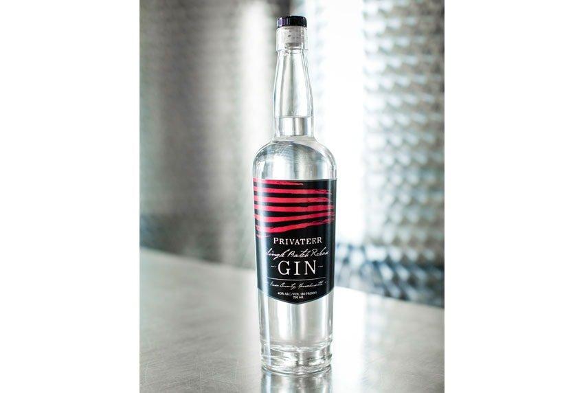 Privateer Gin Bottle