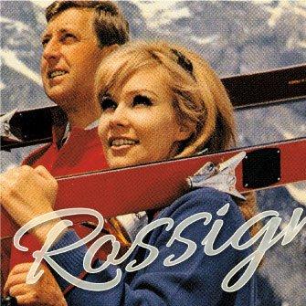 Rossignol Vintage Ski Branding