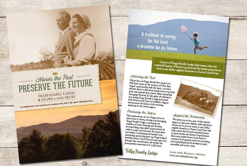 Trapp Family Lodge Brochure
