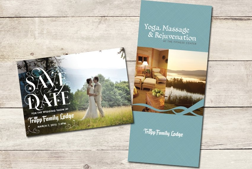 Trapp Family Lodge - Brochure and Save the Date