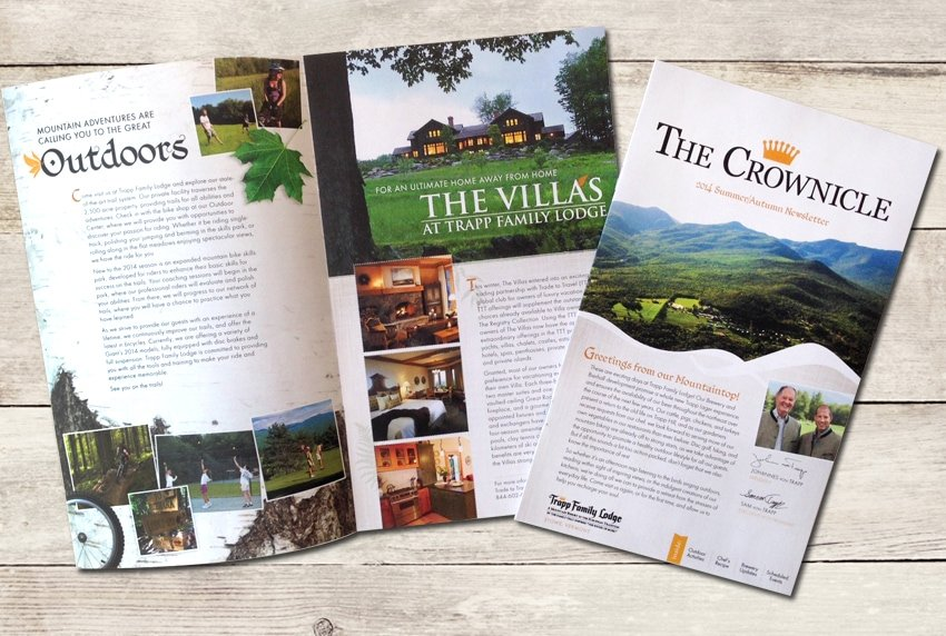Trapp Family Lodge - Print Newsletter