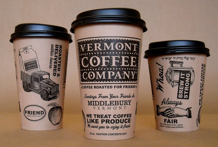 Vermont Coffe Company Cups - Coffee Roasted for Friends