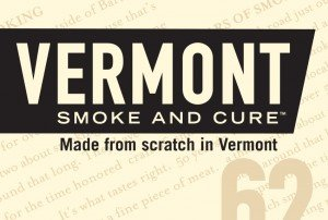 Vermont Smoke and Cure Logo Lock-Up
