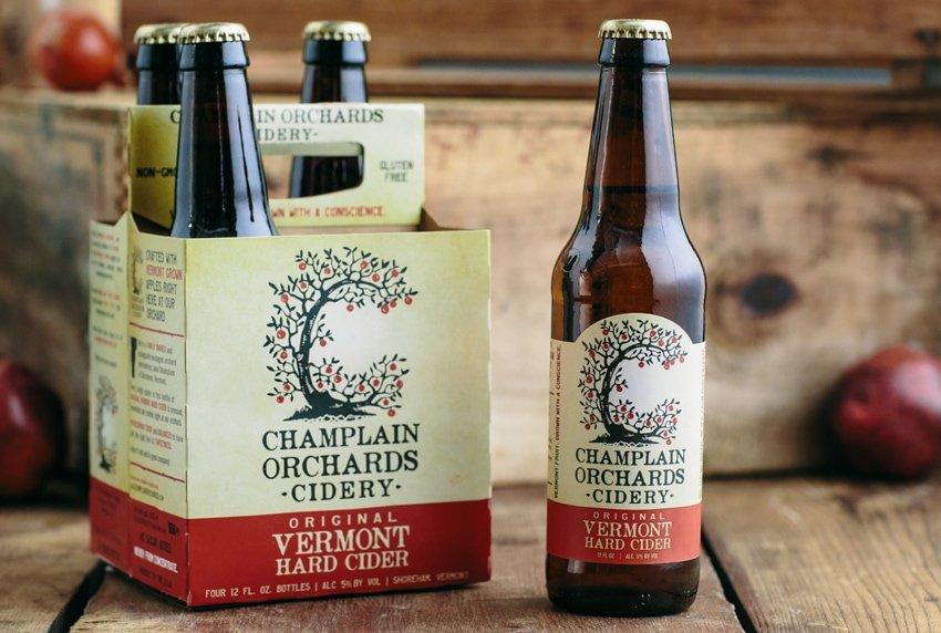 Champlain Orchards Bottle Packaging
