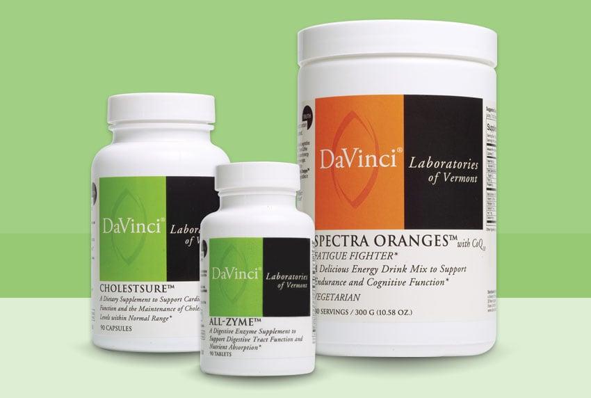 DaVinci Supplement Packaging