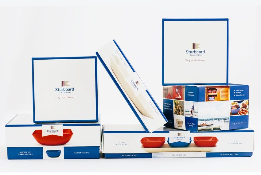 Starboard Collection Packaging