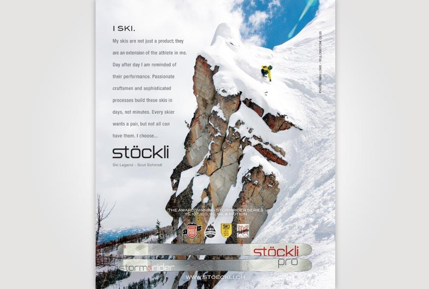 Stockli Ski Ad with Scot Schmidt