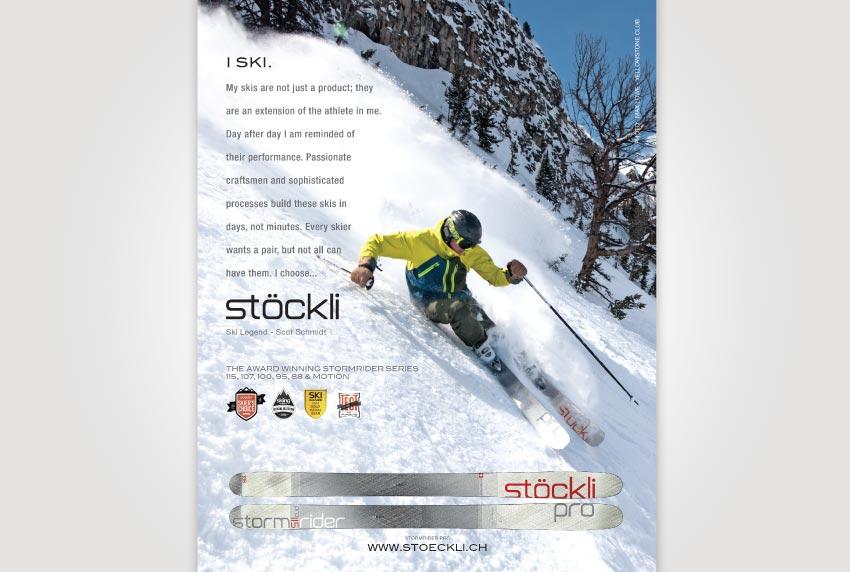 Stockli Print Ad - Scot Schmidt