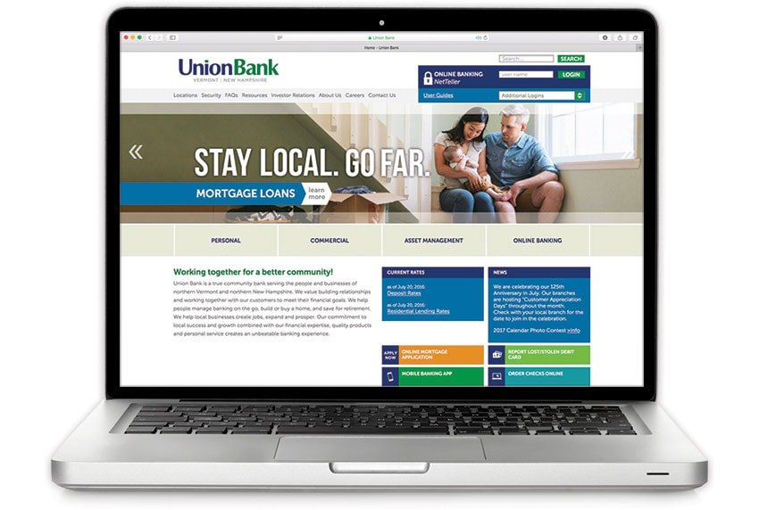 Union Bank Website