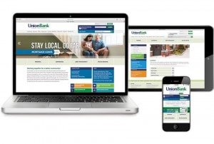 Union Bank Website - All Devices
