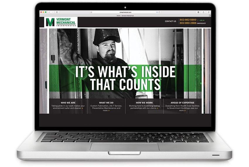 Vermont Mechanical Website