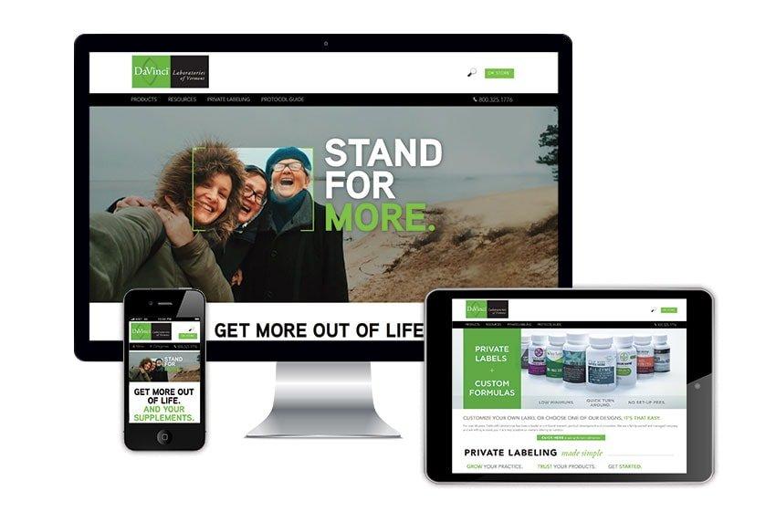 Davinci Website - Multiple Devices