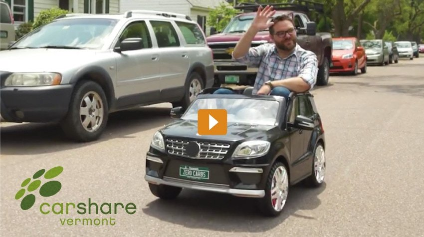 CarShare Vermont - Tiny Car Video